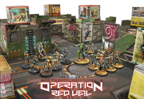 Operation Red Veil Battle Pack - Infinity